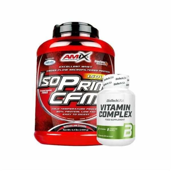 Pack Isoprime Cfm 2 Kg + Vitamin Complex 60 Caps