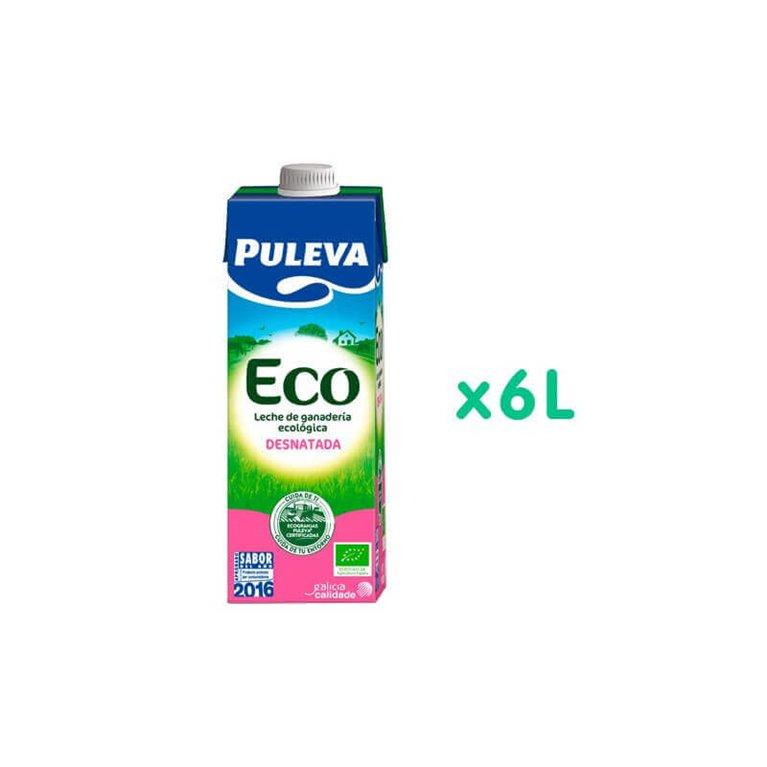 Pack Leche Desnatada BIO - Puleva