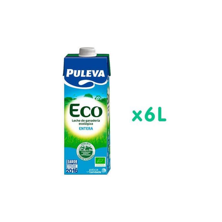 Pack Leche entera BIO - Puleva