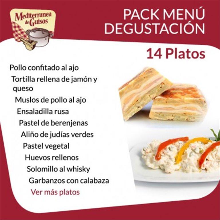 Pack Menú Degustación (14 platos), 1 ud