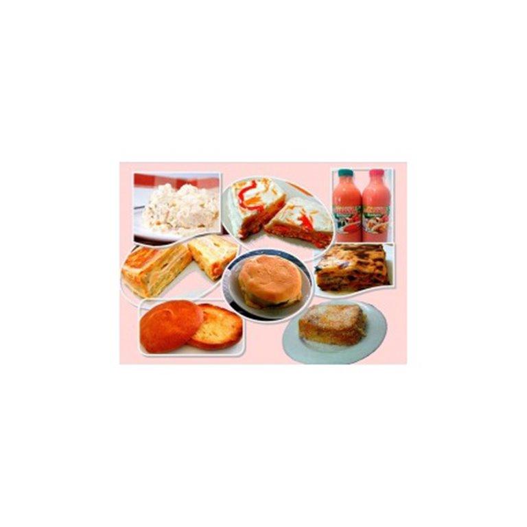 Pack menú especial Sin Gluten. Certificado por ASPROCESE.