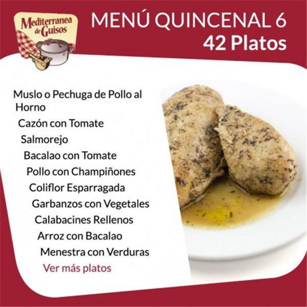 Pack Menú Quincenal 3 + 4