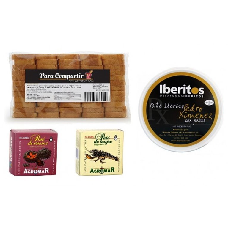 Pack Minibiscotes con Untables Gourmet, 1 ud