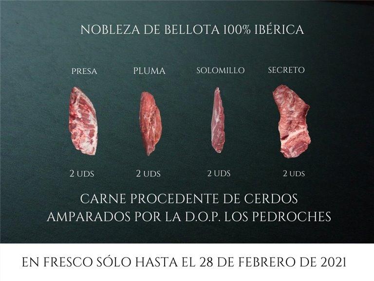 Pack Nobleza de bellota 100% Ibérica
