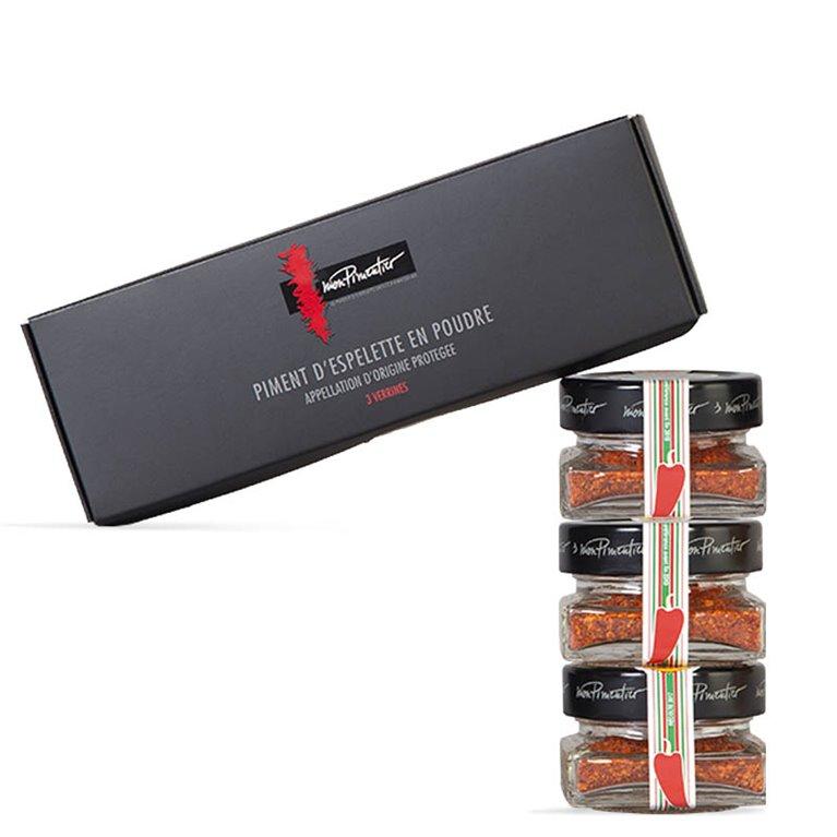 Pack pimentón de Espelette 3x15gr
