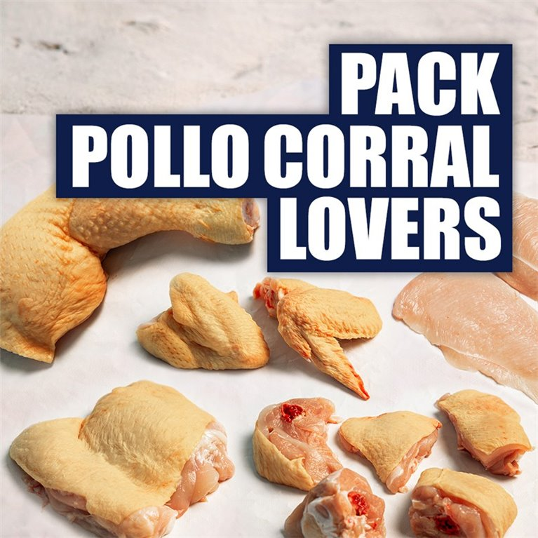 Pack Pollo Corral Lovers (3 kg)