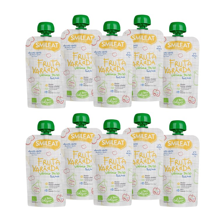 Pack pouches Fruta Variada Ecológico