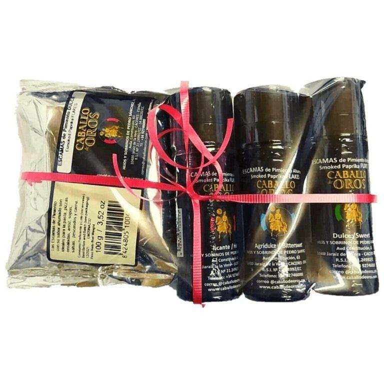 Pack regalo escamas de pimentón + sobre recarga 100g.