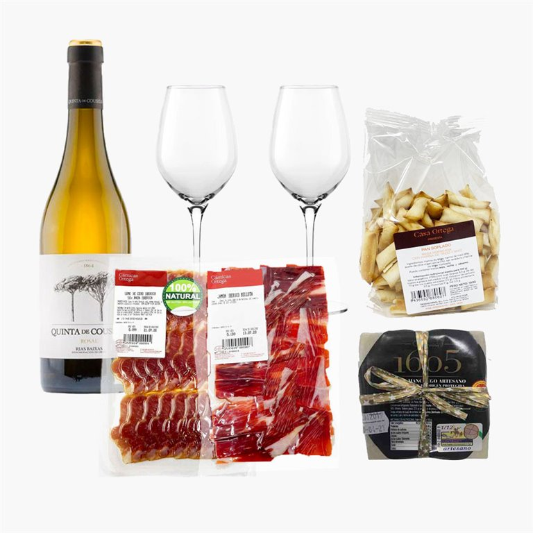 "Pack ""Saladito"" con vino Blanco"
