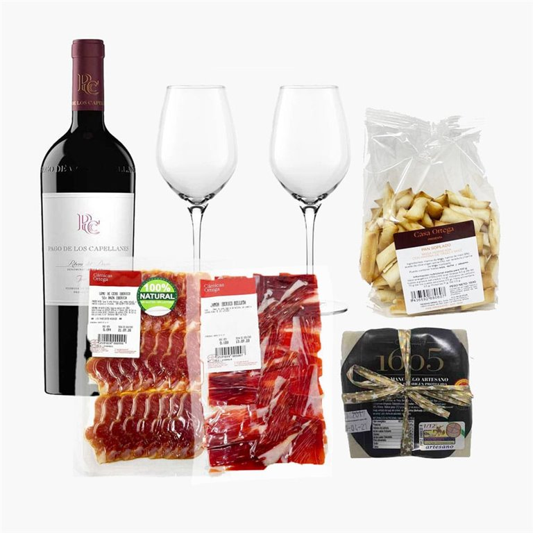 """Pack """"Saladito"""" with red wine"""