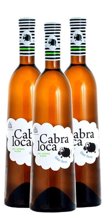 Pack Vino Blanco Cabra Loca, 1 ud
