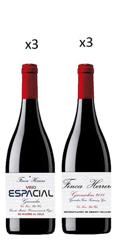 Pack Vino Garnacha Finca Herrera 6 Botellas, 1 ud