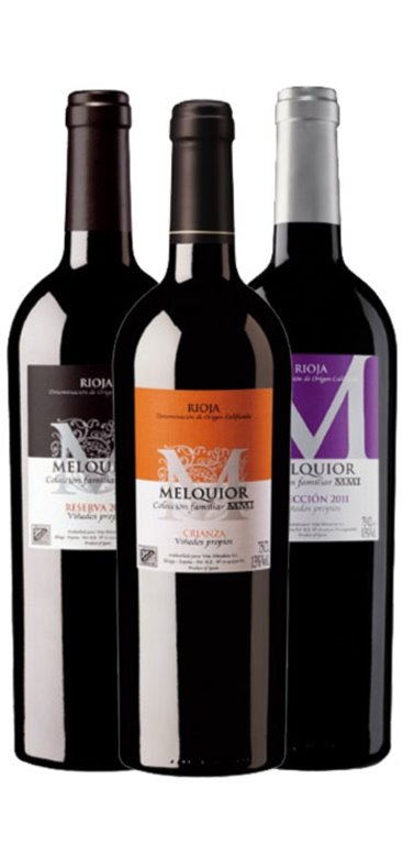 Pack Vino Tinto Melquior