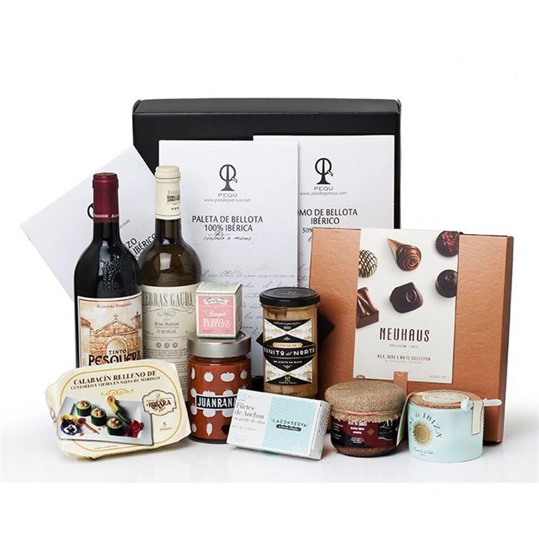 Pack Vinos, Ibéricos y Productos Gourmet Seleccionados, 1 ud