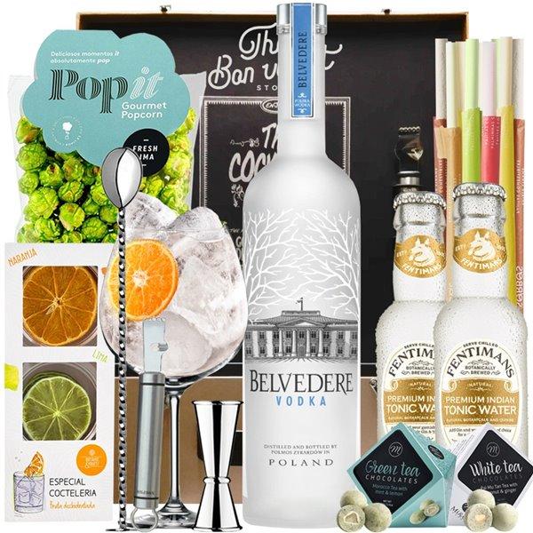 Pack Vodka Tonic Belvedere