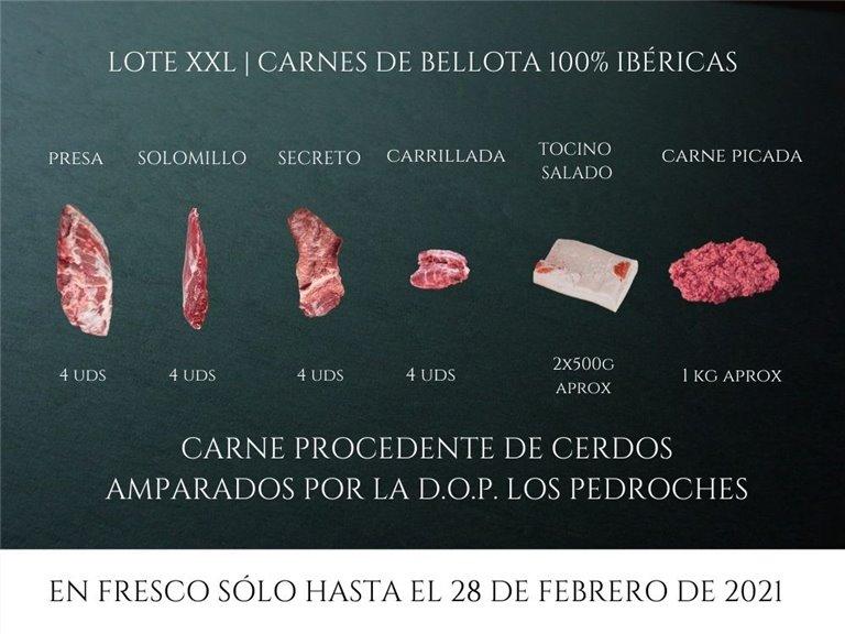 Pack XXL de bellota 100% ibérica