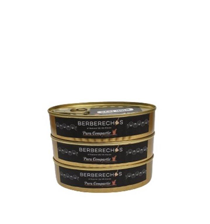 Pack3 latas berberechos 30/40 piezas Para Compartir