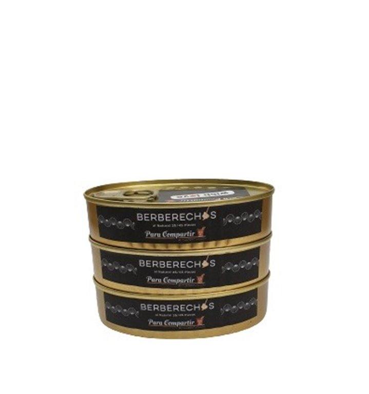 Pack3 latas berberechos 35/45 piezas Para Compartir