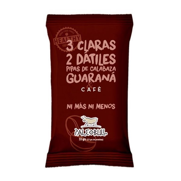 Paleobull Barrita de Café y Guaraná, 1 ud