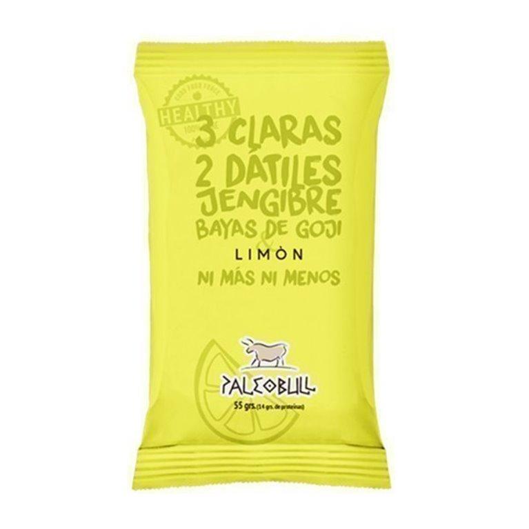 Paleobull Barrita de Limón, Goji y Jengibre, 1 ud