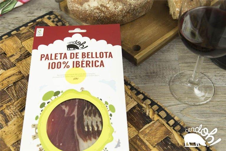 Paleta de Bellota 100% Ibérica (100 g)