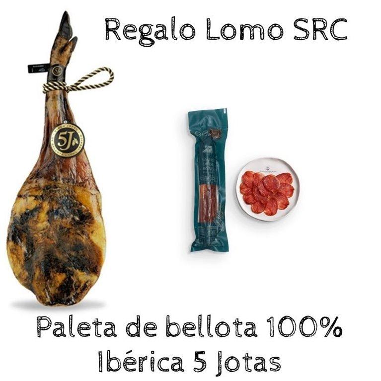 Acorn-fed 100% Iberian Paleta de Bellota 5 jotas - 5j and Loin SRC