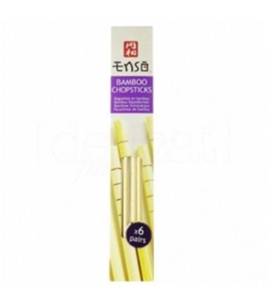 Palillos de bambú. Enso. 24un.