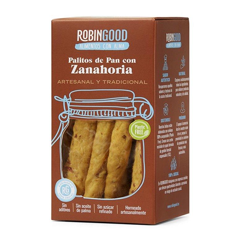Palitos de pan con Zanahoria