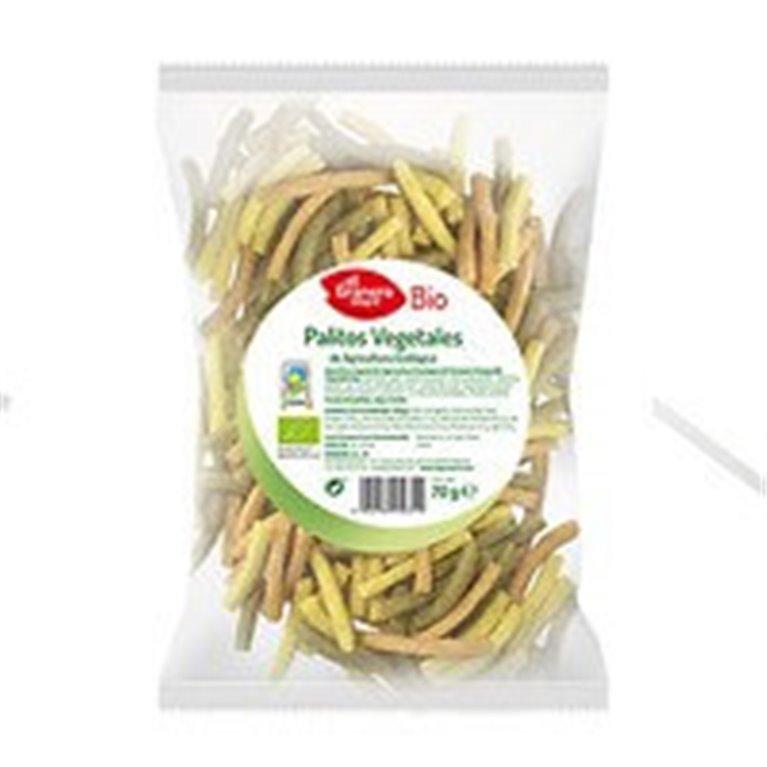 Palitos vegetales, 70 gr