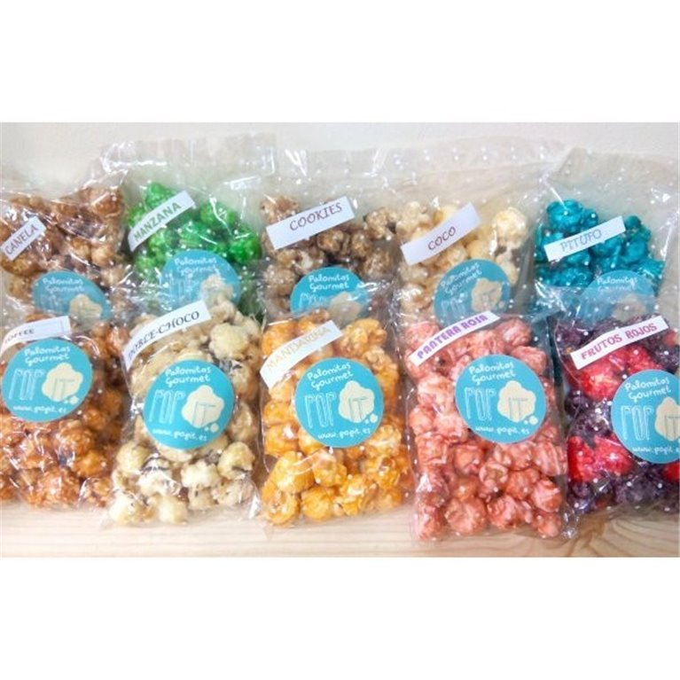 Palomitas de sabores Pop it, 1 ud