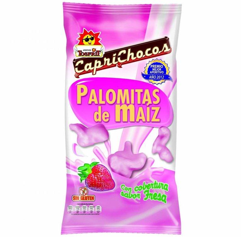 Palomitas sabor fresa Caprichoco