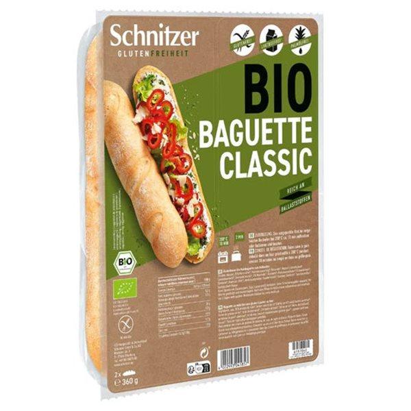 Pan Baguette Clásico Sin Gluten Bio 360g