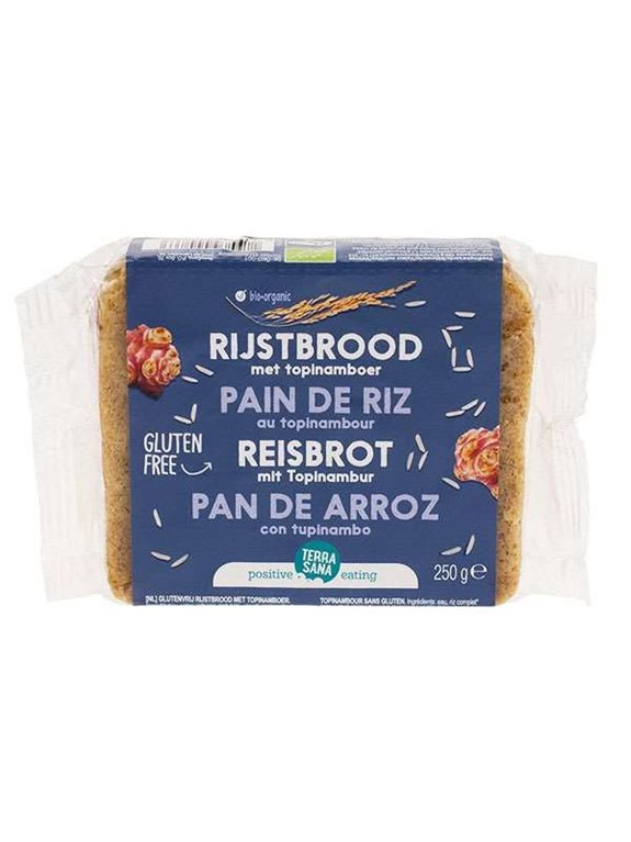 Pan De Arroz Con Topinambur S/G Vegan, 1 ud