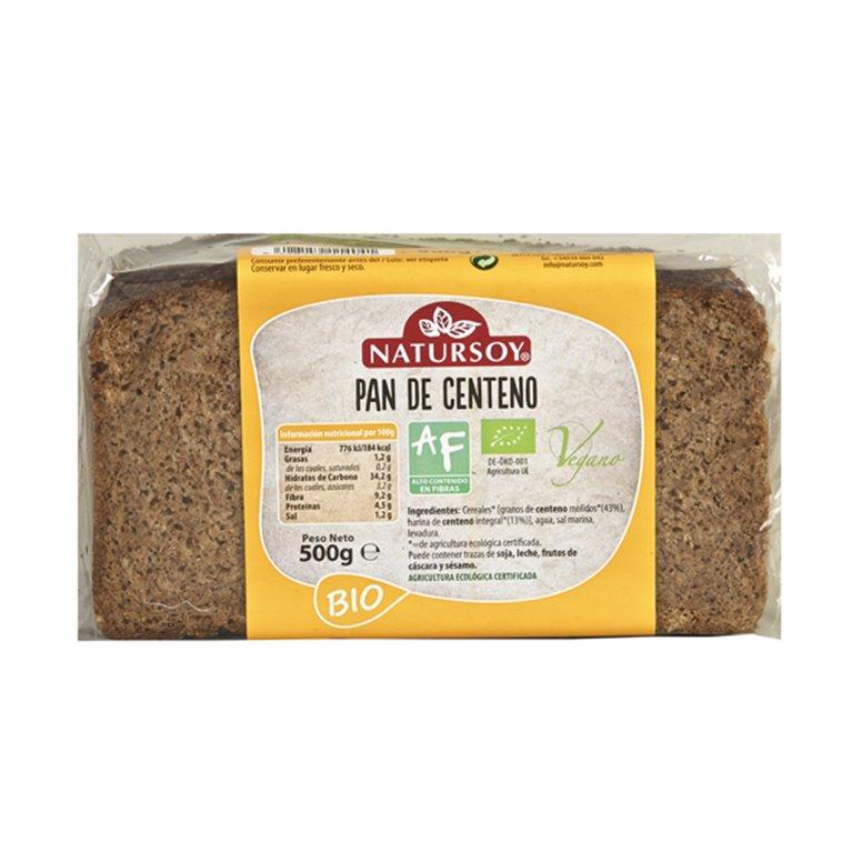Pan de Centeno Bio 500g, 1 ud