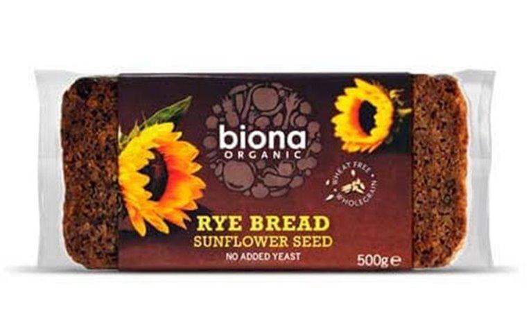 Pan de centeno con semillas de girasol - Biona