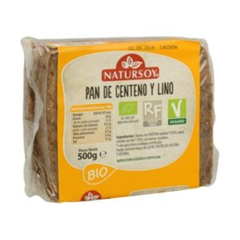 Pan de Centeno y Lino Bio 500g