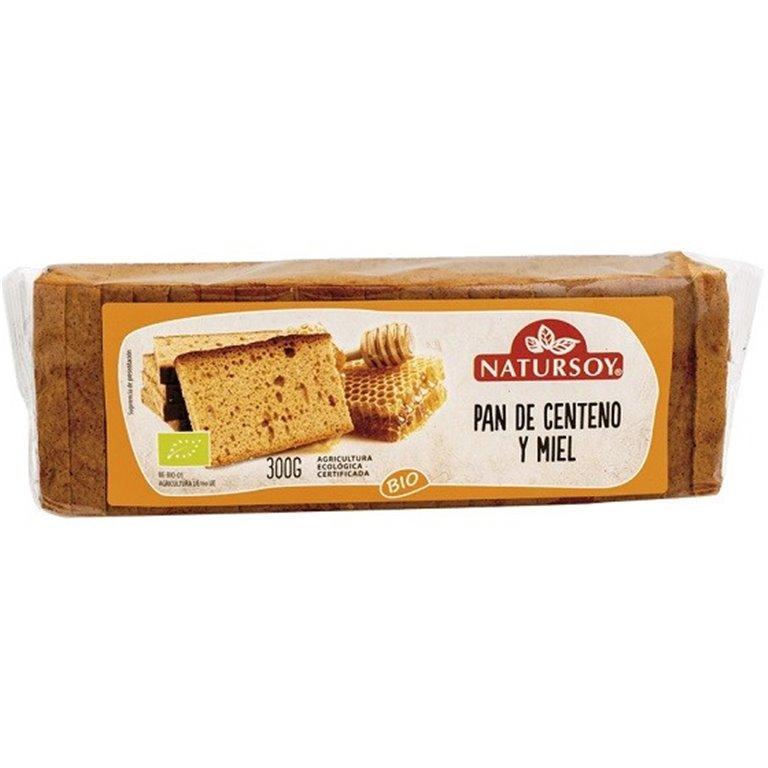 Pan de Centeno y Miel Bio 300g, 1 ud