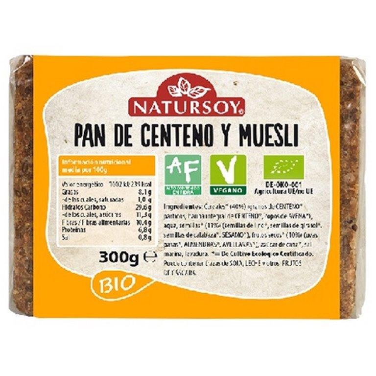 Pan de Centeno y Muesli Bio 300g