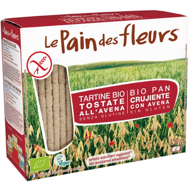 Pan de Flores con Avena Sin Gluten Bio 150g, 1 ud