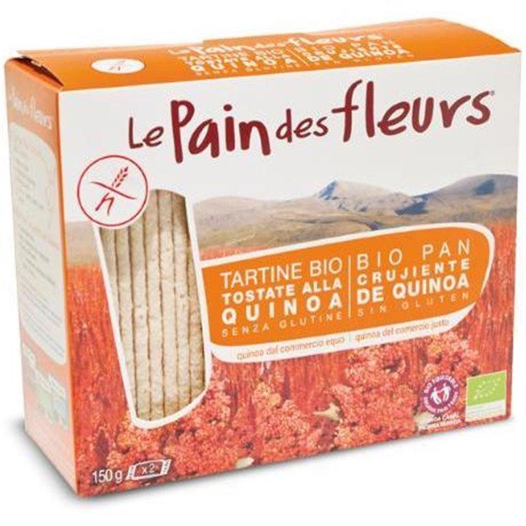 Pan de Flores con Quinoa Sin Gluten Bio 150g, 1 ud