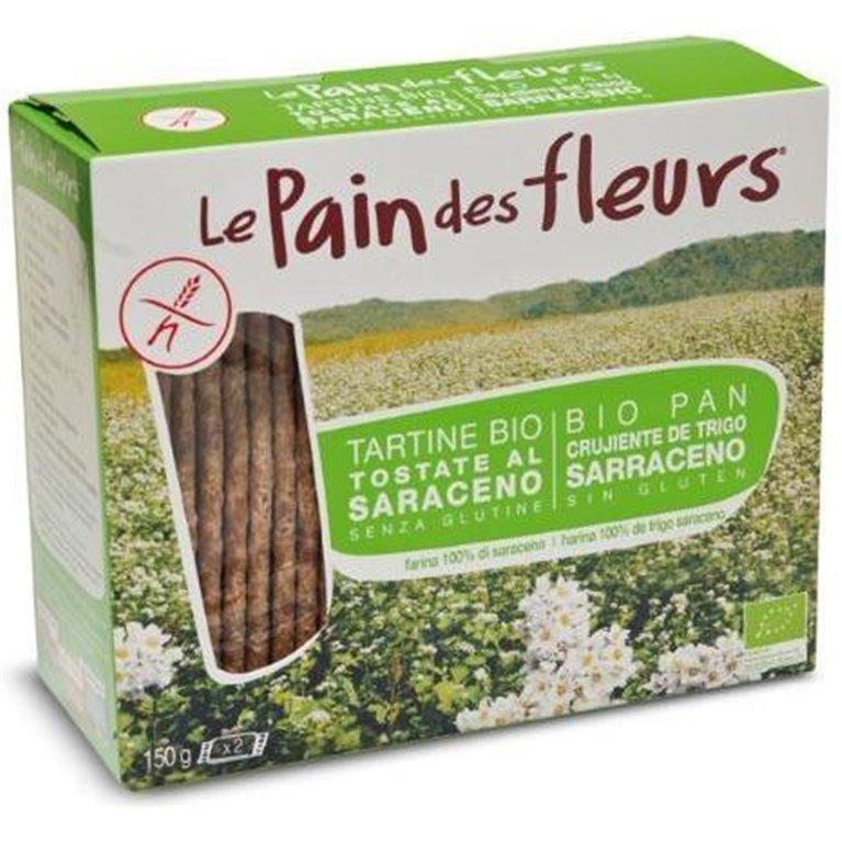Pan de Flores con Trigo Sarraceno Sin Gluten Bio 150g, 1 ud