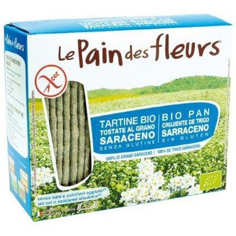 Pan de Flores con Trigo Sarraceno (Sin Sal) Sin Gluten Bio 150g, 1 ud