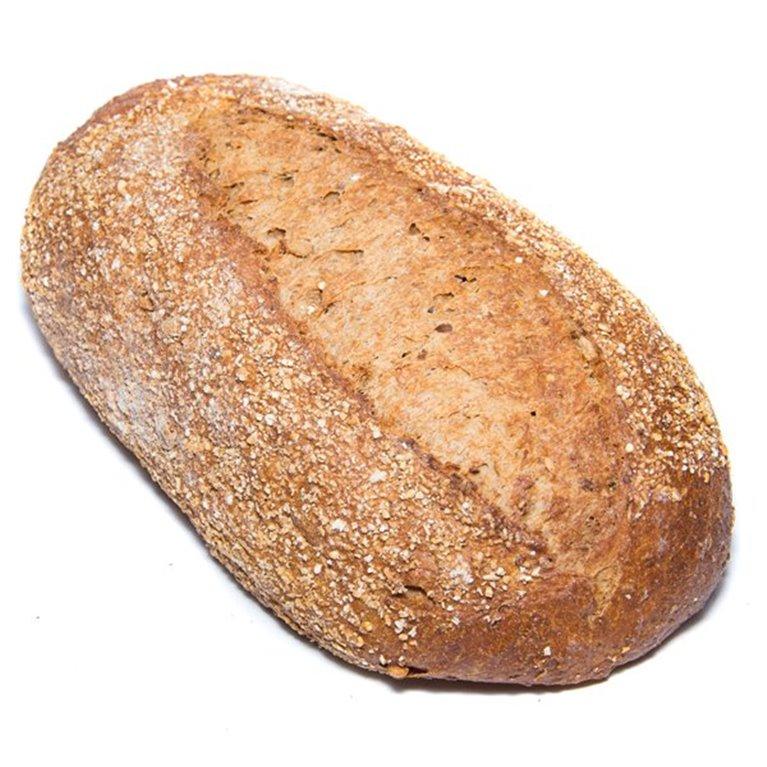 Pan de maíz y cereales