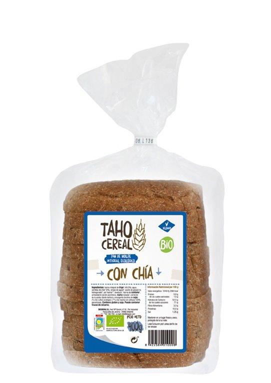 Pan de Molde Integral con Chía Bio 400g, 1 ud