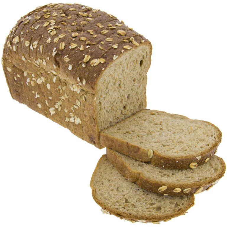 Pan de Molde de Centeno Integral con Cereales y Masa Madre Natural 450g Ecológico, 1 ud