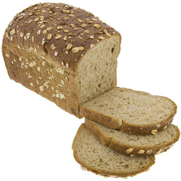 Pan de Molde de Centeno Integral con Cereales y Masa Madre Natural 450g Ecológico