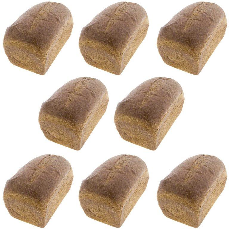 Organic Wholemeal Rye Bread Wholemeal Organic Rye Bread (8 units x 400g) uncut