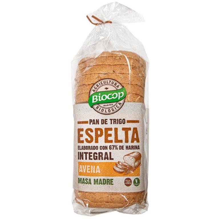 Pan de Molde de Espelta Integral Avena 400g