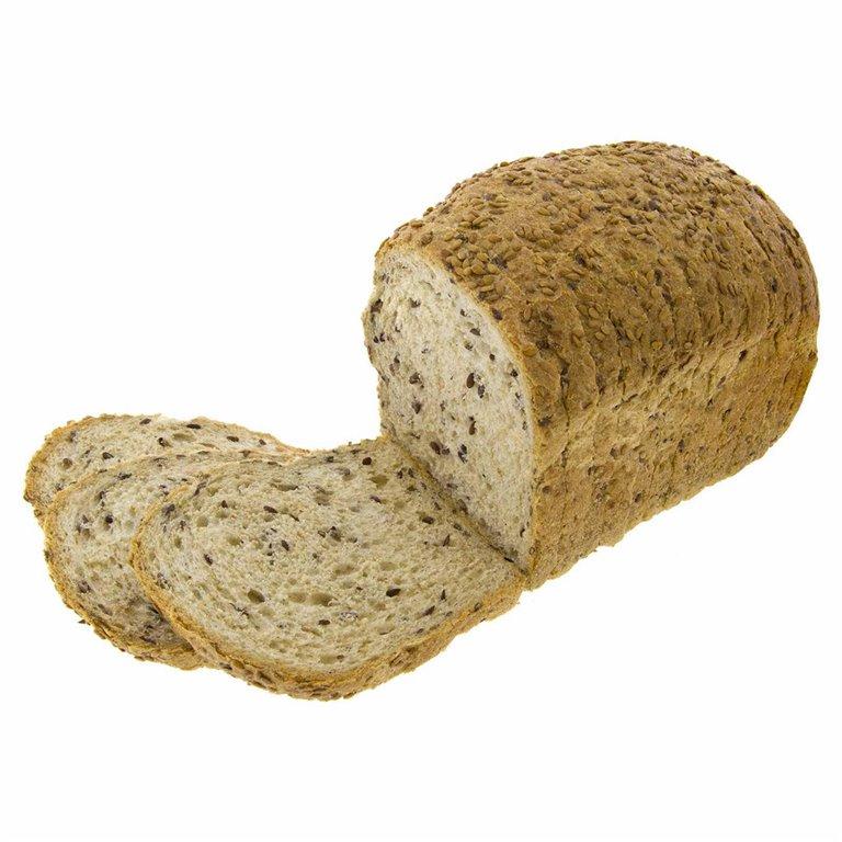 Pan de Molde de Espelta Integral con Linaza 450g Ecológico, 1 ud