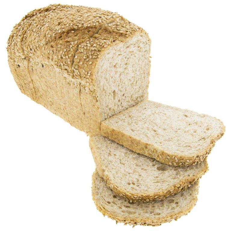 Pan de Molde de Trigo con Sésamo 450g Ecológico Gourmet, 1 ud